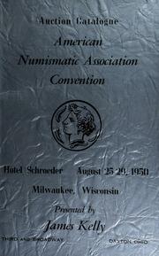 Auction catalogue : American numismatic association convention ... [08/25-29/1950]