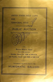 Auction catalogue 43-44 : United States and territorial gold coins ... [03/01-02/1948]