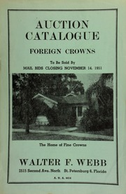 Auction catalogue : foreign crowns, to be sold by mail bids. [11/14/1951] (pg. 11)