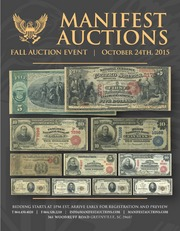 Manifest Auctions Fall Auction Event 2015