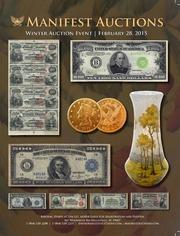 Manifest Auctions Winter Auction Event 2015