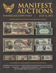 Manifest Auctions Summer Auction Event 2015