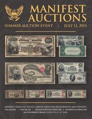 Manifest Auctions Summer Auction Event 2015