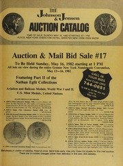 Auction & Mail Bid Sale # 17