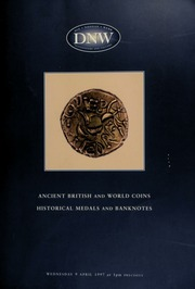 Auction of ancient, British and world coins, historical medals and banknotes ... [04/09/1997]