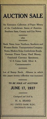 Auction sale ... [06/17/1937]
