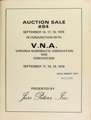 Auction sale #84, in conjunction with V.N.A., Virginia Numismatic Association 1976 Convention. [09/16-18/1976]