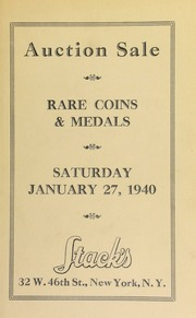 Auction sale : choice U.S., foreign ancient coins and medals from the collection of Newton Forney ...