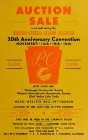 Auction Sale....Penn-Ohio Club's 20th Anniversary Convention