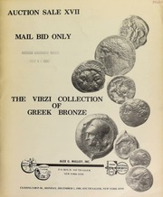 Auction sale XVII, mail bid only : the Virzi collection of Greek bronze. [12/01/1980]