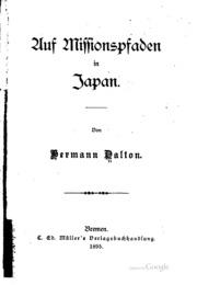 Auf Missionspfaden in Japan