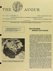 The Augur, Vol. 1, No. 10