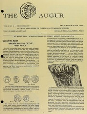 The Augur, Vol. 1, No. 11