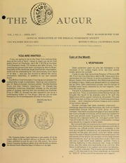 The Augur, Vol. 1, No. 3