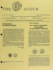 The Augur, Vol. 1, No. 5