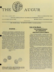 The Augur, Vol. 1, No. 6