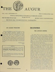 The Augur, Vol. 1, No. 8