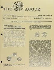 The Augur, Vol. 1, No. 9