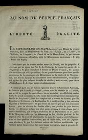 Au nom du peuple français : liberté égalité