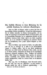 Aus Altertum und Gegenwart: Gesammelte Abhandlungen