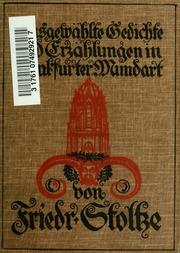 Ausgewählte Gedichte und Erzählungen in frankfurter Mundart