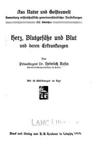 Aus Natur und Geisteswelt. v. 27, 1917 | 3rd ed