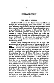 autobiography and essays thomas henry huxley  autobiography and selected essays