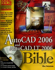 AutoCAD 2006 and AutoCAD LT 2006 bible : Finkelstein, Ellen
