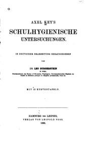 Axel Key-s schulhygienische Untersuchungen