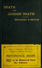 Death and sudden death [electronic resource]