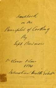 First lessons in the principles of cooking barker lady mary handbook on the principles of cooking thecheapjerseys Choice Image