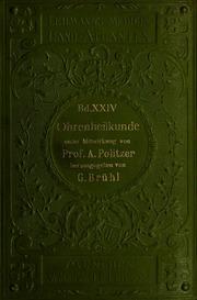 Atlas und Grundriss der Ohrenheilkunde