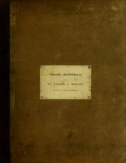Crania Aegyptiaca, or, Observations on Egyptian ethnography derived from anatomy, history and the monuments/ by Samuel George Morton