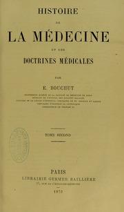 Histoire de la medecine et des doctrines medicales