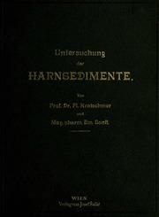 Mikroskopische und mikrochemische Untersuchung der Harnsedimente