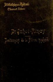 Traitement de la fièvre typhoïde