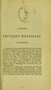 Coventry Provident Dispensary