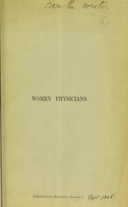 Women physicians
