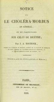 Quelques réflexions sur le choléra-morbus : observé à l-Hôtel-Dieu de Paris dans le service médical de M. Bally