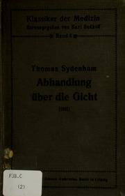 Abhandlung über die Gicht 1681