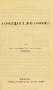 On micrometers applied to microscopes