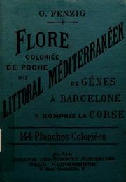 Flore coloriée de poche du littoral Méditerranéen de Gênes à Barcelone y compris la corse