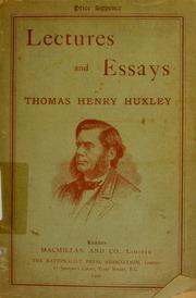 Thomas henry huxley essays