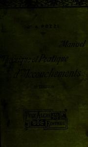 Manuel théoretique et pratique d-accouchements