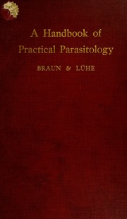 A handbook of practical parasitology