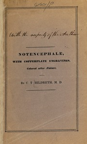 Case of notencephale : with engravings