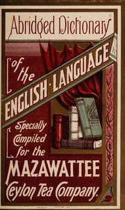 Abridged dictionary of the English language