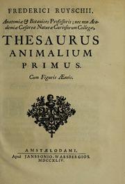 Thesaurus anatomicus primus ... Het eerste cabinet der dieren, Vol. 2