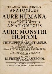 Tractatus quintus de aure humana. Cui accedit tractatus sextus de aure monstri humani