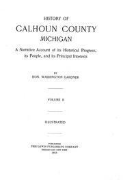 History of Calhoun County, Michigan